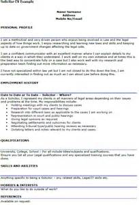 Trainee Solicitor Cover Letter Solicitor Cv Exle Icover Org Uk
