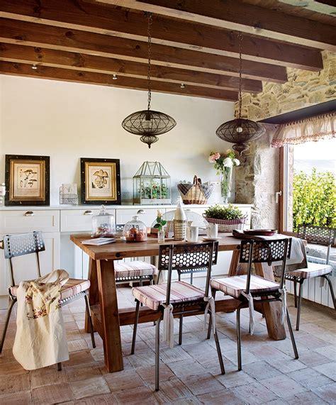 Grande Table Carrée 1719 by Una Casa R 250 Stica Con Toques Industriales 183 Elmueble