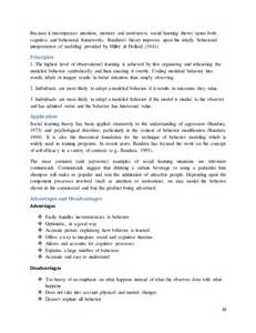 Learning Theory Essay by Objective Of This Assignment Is To Write A Descriptive Essay On Six T