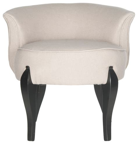 vanity chairs and benches shop houzz safavieh safavieh mora vanity chair vanity