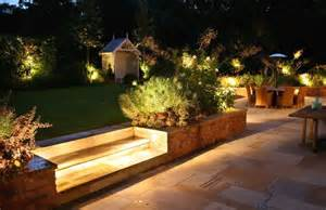 charming garden ideas with fabulous outdoor lighting ideas