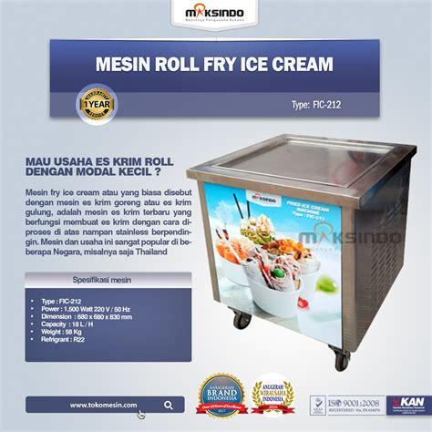 Mesin Es Krim Roll mesin es krim roll dari maksindo mudah diaplikasikan dan