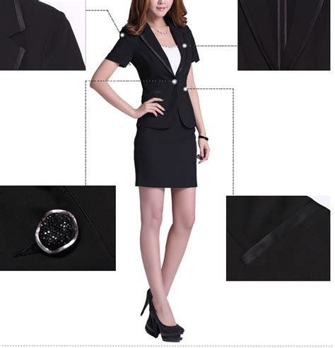 White Superbigsize by 2013 New Formal Suit With Skirt For Office