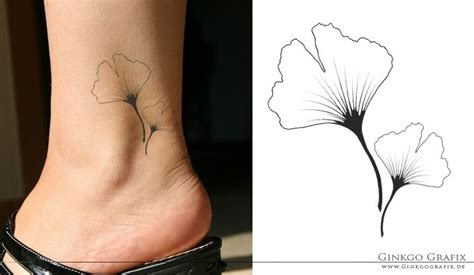 ginkgo leaf tattoo ginkgo shyada great clean lines ink