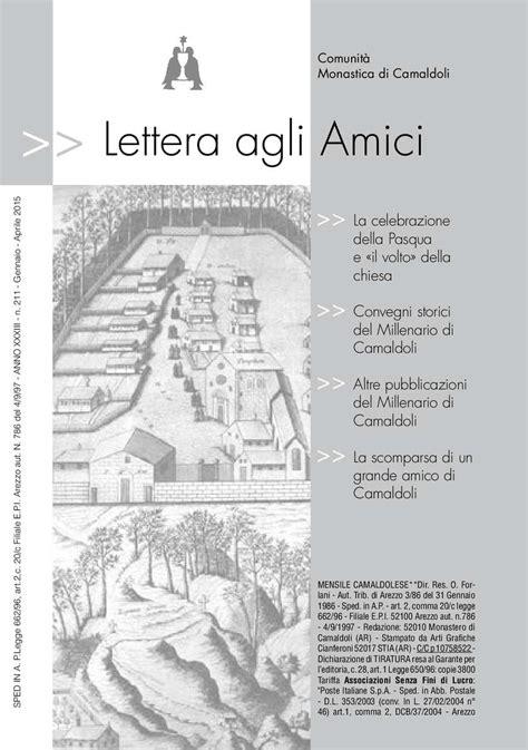 Calaméo - Lettera agli Amici 211