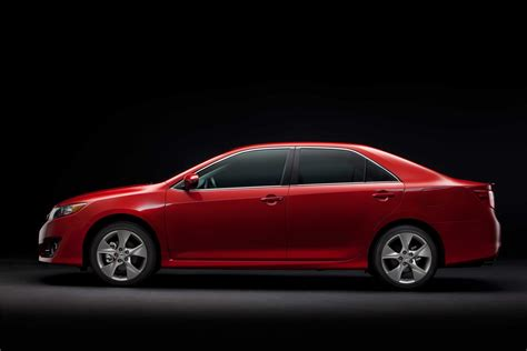 Toyota Camry Width 2012 Toyota Camry Technical Specifications And Data
