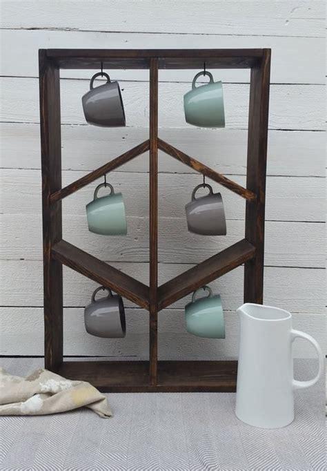 how to organize mugs in cabinet best 25 mug rack ideas on coffee hooks mug