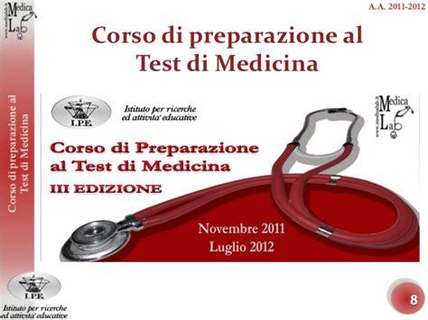 corsi preparazione test medicina medicalab corso di preparazione al test di medicina