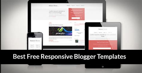 10 best free responsive blogger templates 2014