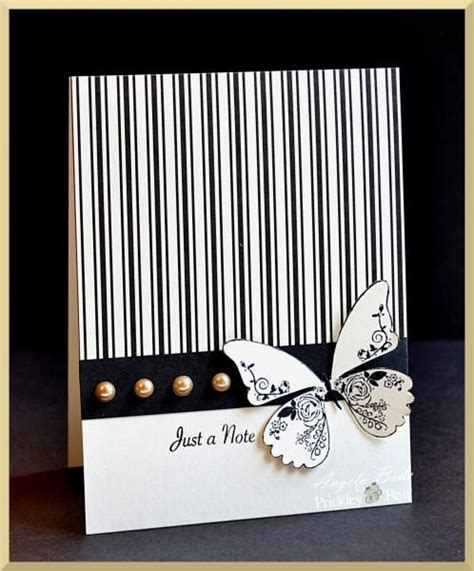 Black And White Handmade Cards - the 155 best images about black white cards on