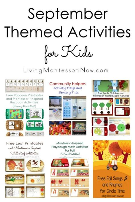 themed monthly events monthly themed activities archives living montessori now