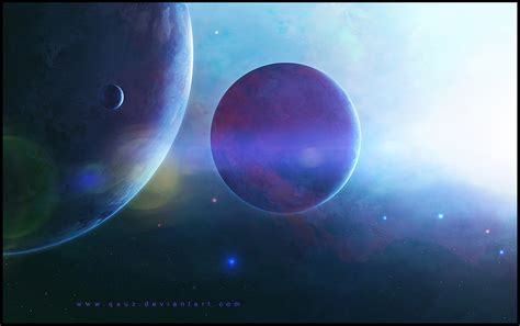 Space Lights by Reach The Light Space Wallpaper By Qauz On Deviantart
