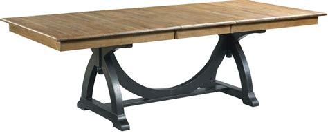 Extendable Trestle Table by Ridge Extendable Rectangular Trestle Dining Table