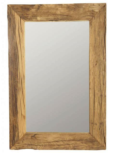 cornice 60x90 housedoctor spejl ramme med genbrugstr 230 brun 60x90 cm