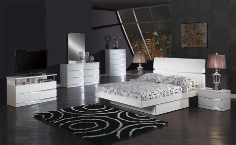 platform bedroom sets king aurora king size modern european design bedroom set white