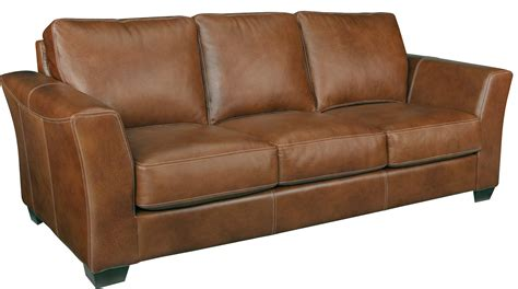 Leather Factory Sofa Leather Craft Bayview Stationary Sofa Bothwell Furniture