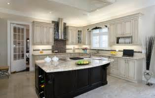 White Kitchen Black Island by 52 Kitchens With Wood And Black Kitchen Cabinets