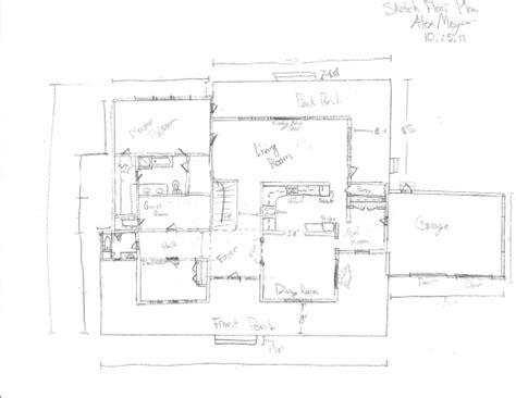 how to draw floor plans by hand how to draw a floor plan by hand house plan ideas