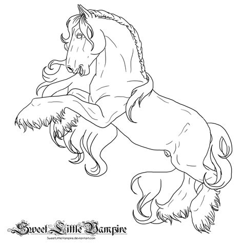coloring pages of horses rearing rearing drawings and coloring pages