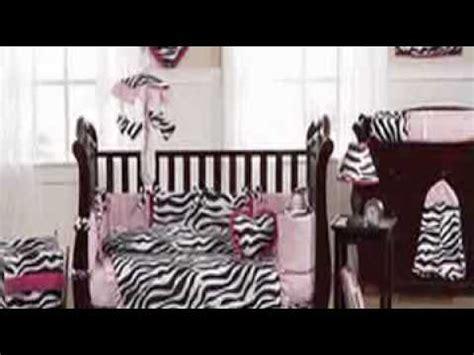Pink Zebra Print Crib Bedding Pink Black White Funky Zebra Print Baby Crib Bedding