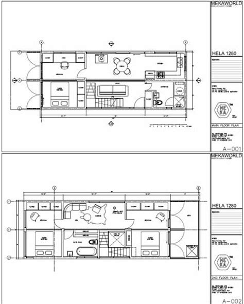 shipping container homes blueprints studio design