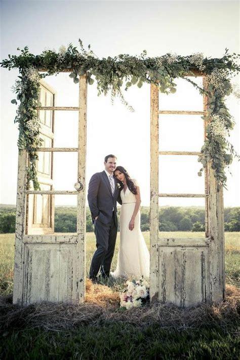 Wedding Backdrop With Doors by 55 Vintage Door Wedding Backdrops Happywedd