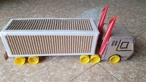como aser un carro facil de aser coche c 243 mo hacer el carro de contenedores de cart 243 n