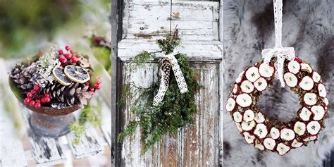 12 home christmas decoration ideas inspired by nature and