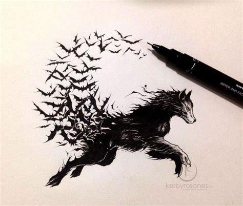 wolf by kerbyrosanes on deviantart