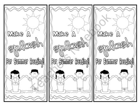 printable summer bookmarks free summer bookmark printables primary grades pinterest