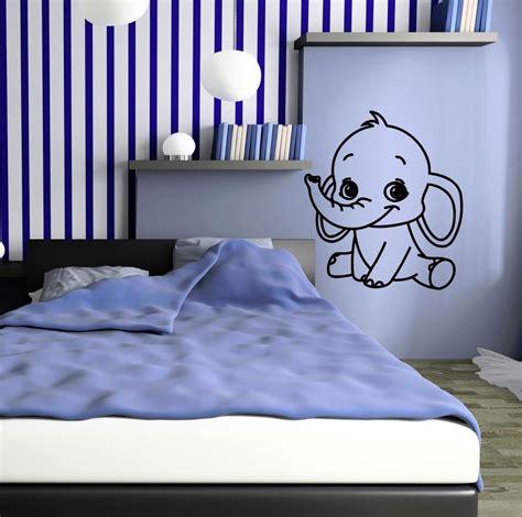 ebay wall stickers nursery vinyl decal elephant for room baby nursery animal wall stickers ig647 ebay