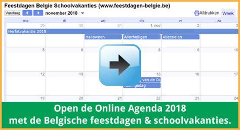 Kalender 2018 Schoolvakanties Belgie Nieuws Feestdagen Belgie 2017 2018 Schoolvakanties