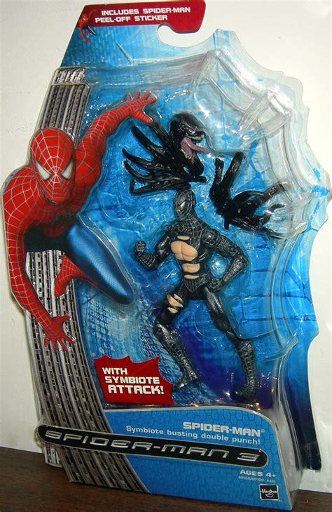 symbiote the peradon series books spider symbiote busting punch figure