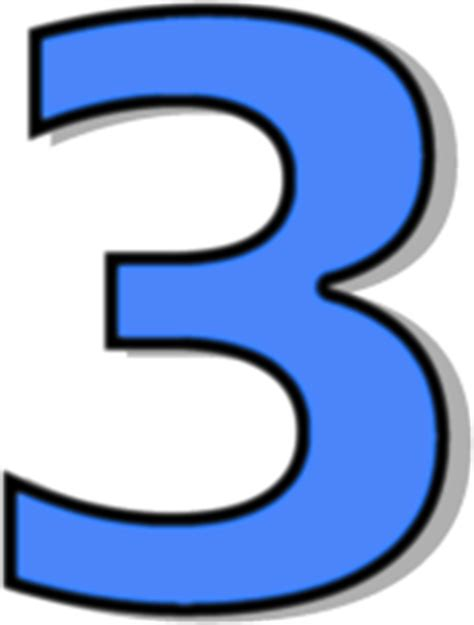one east blue 1 2 3 number 3 blue signs symbol alphabets numbers outlined