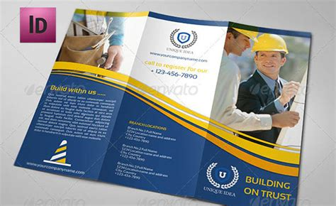 construction brochure template 24 cool construction brochure templates desiznworld