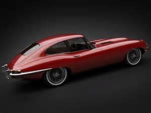 Jaguar Models History 1961 Jaguar E Type 3 8 Coupe 3d Model Max Obj 3ds Fbx Lwo