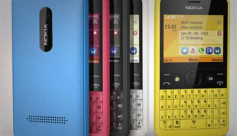qwerty keyboard nokia phones nokia launches asha 210 budget phone with qwerty keyboard
