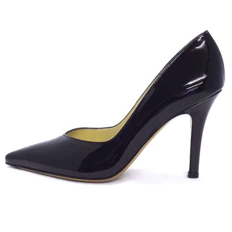 high heel pumps dita classic pointy toe high heel pumps in black patent