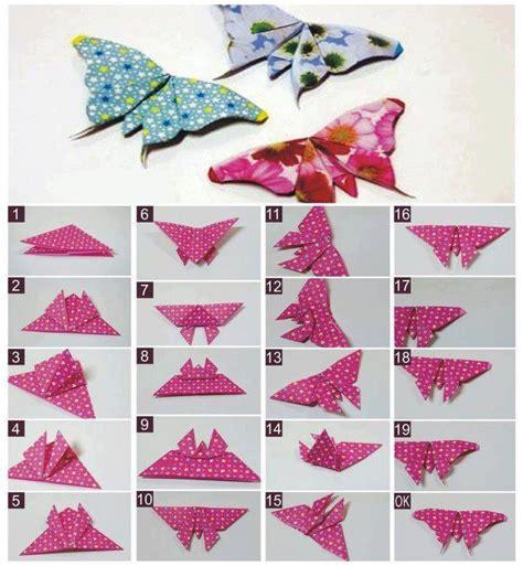 Butterfly Origami - ayenyek cara membuat rama rama origami paper