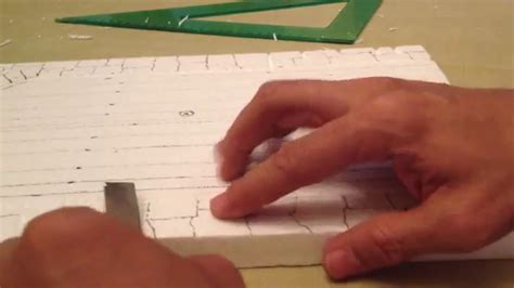Como Hacer Un Pesebres Imgenes   como hacer casa en icopor para el pesebre parte 1 youtube