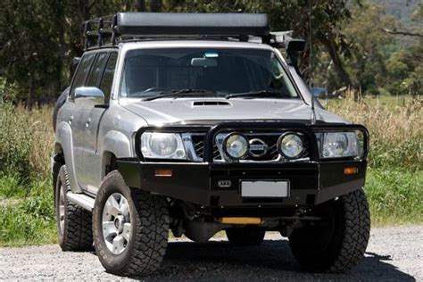 nissan xterra front bumper arb 4x4 accessories 3438110 front deluxe bull bar winch