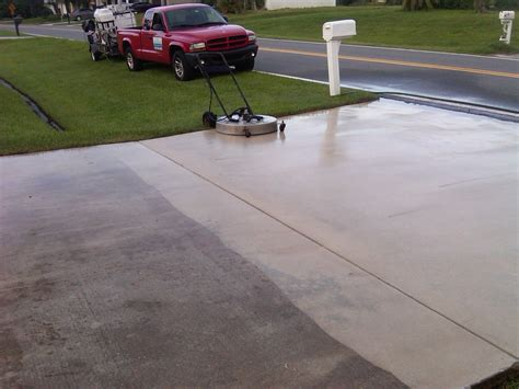 concrete driveway cleaner products