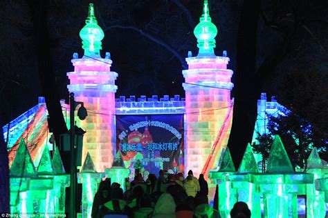 harbin ice festival photos 2017 harbin ice and snow festival kicks off