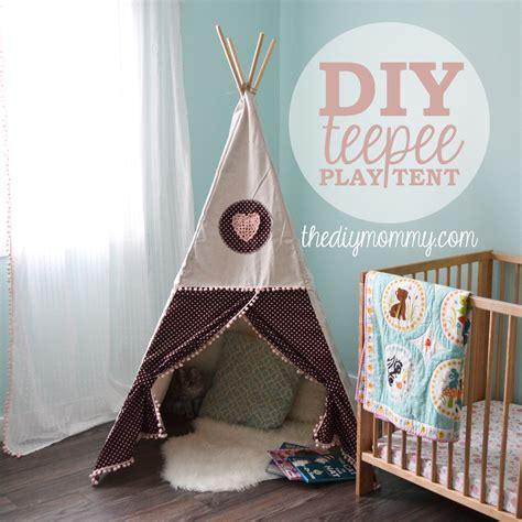 teepee diy sew a diy teepee play tent the diy