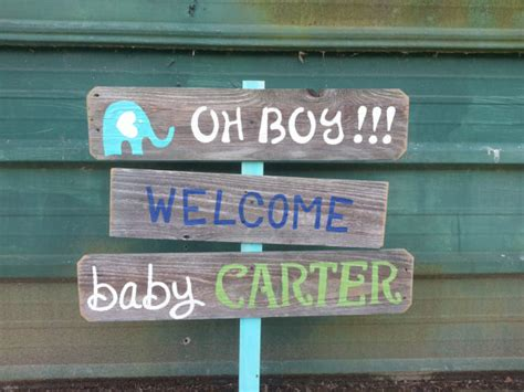 welcome home baby boy decorations welcome home baby lawn sign shower sign decorations its a boy