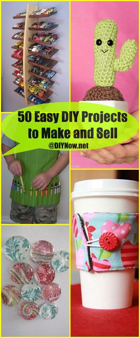 diy projects to sell 50 easy diy projects to make and sell diynow