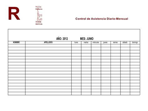 control de asistencia para kinder 3 registro control asistencia trabajadores