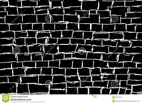 wallpaper black and white for wall illustrated white wall on black background stock image