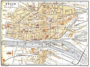 a map of rouen map comparisons