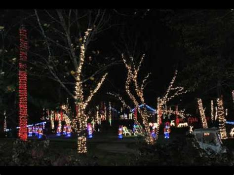 noccalula falls park gadsden alabama christmas on the